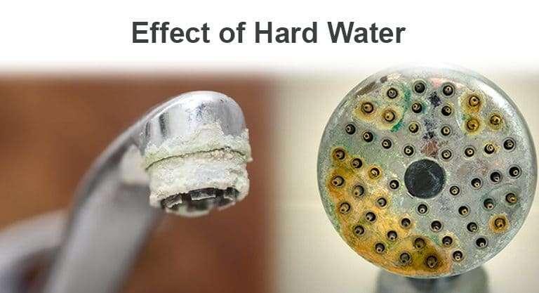 hard water limescale