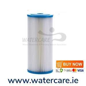 10 in Pleated Jumbo Sediment Water Filter