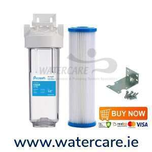 10 inch washable sediment filter with housing