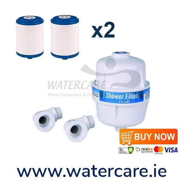 Shower-filter-pack-with-2-replacement-filters