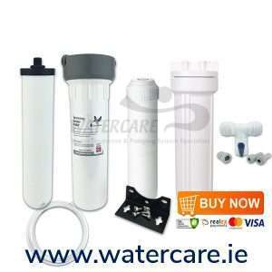 Ultracarb Ceramic Filter System With Fluoride Filter