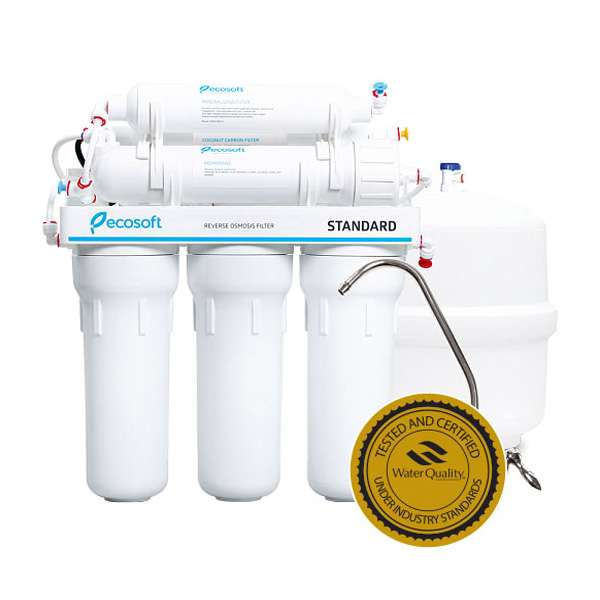 ecosoft 6 stage reverse osmosis
