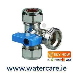 washing machine tee valve